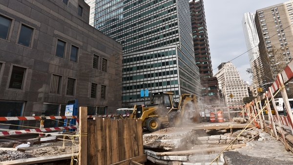 Hurricane Sandy is a recent example of the impact of natural catastrophes on urban areas, as seen in this photo of Fulton Street, in lower Manhattan. (Photo: Shutterstock/donvictorio)