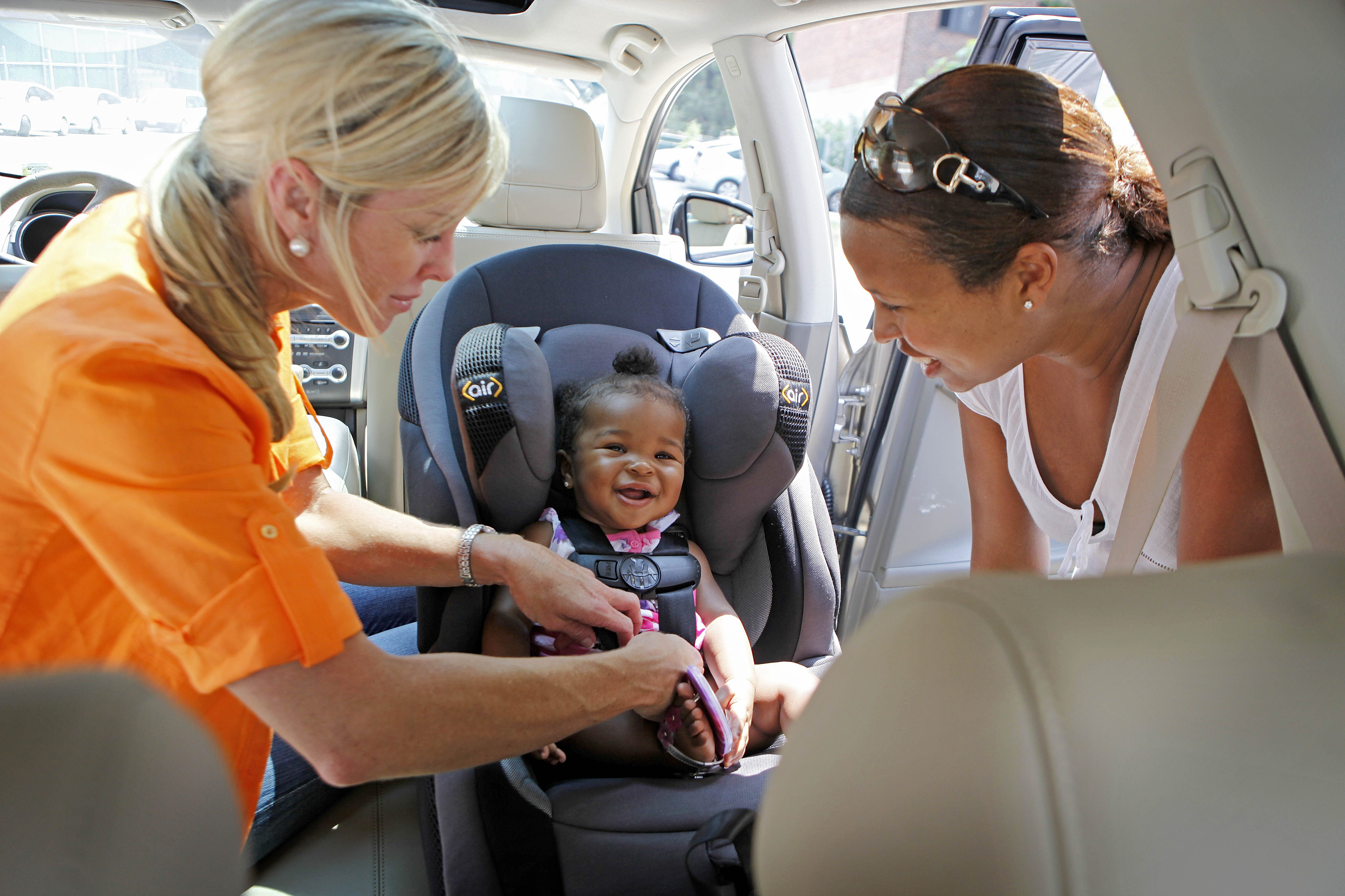 Correctly used child safety seats reduce fatalities by as much as 71