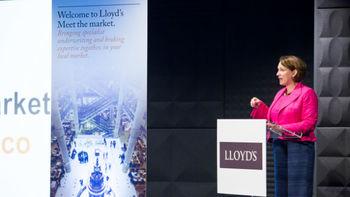 Lloyd's CEO Inga Beale talks shared global threats, evolving processes