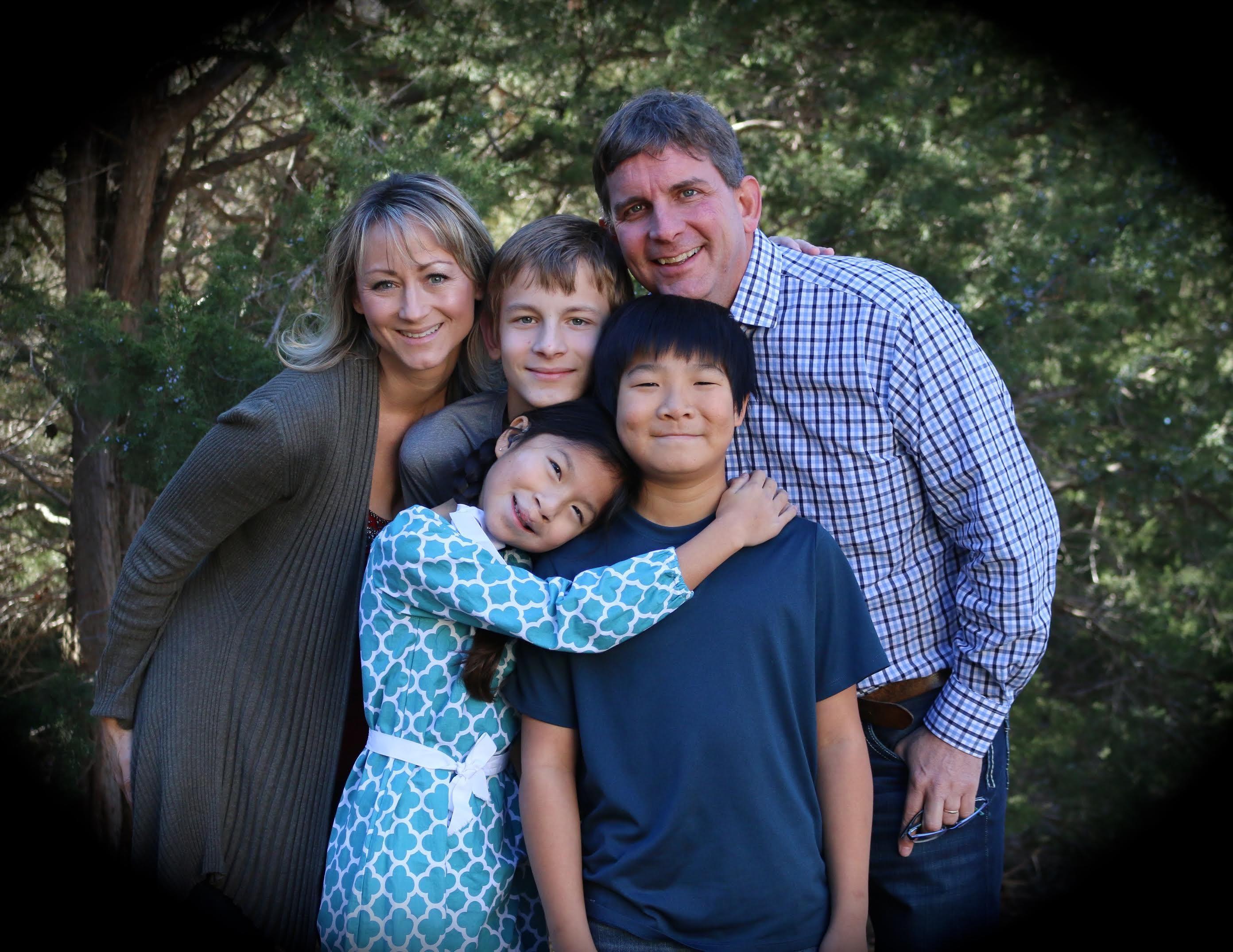 Trent Richmond family photo