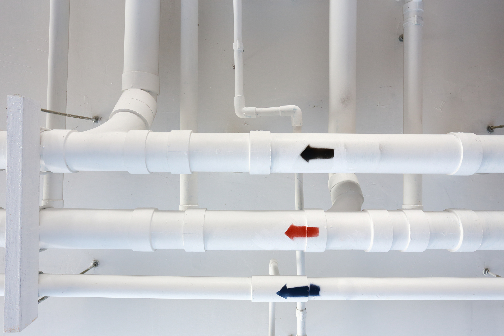Indoor pipes