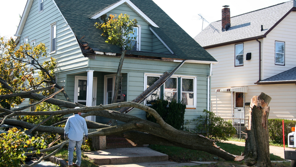 Before and after photos of damage can help tell insurers what happened. (Photo: Shutterstock)