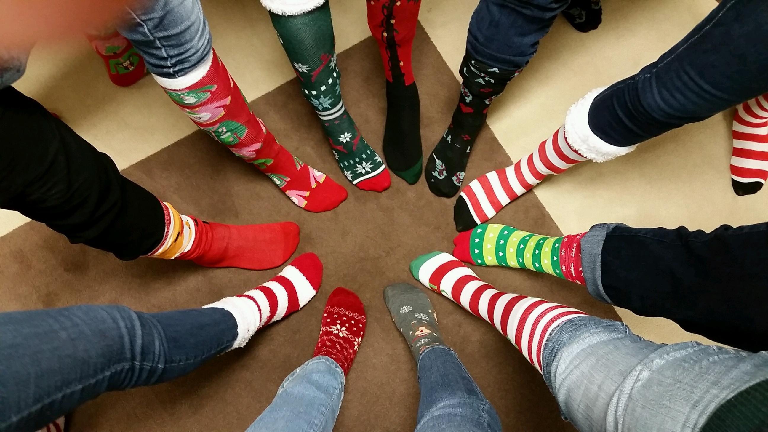 ugly christmas socks