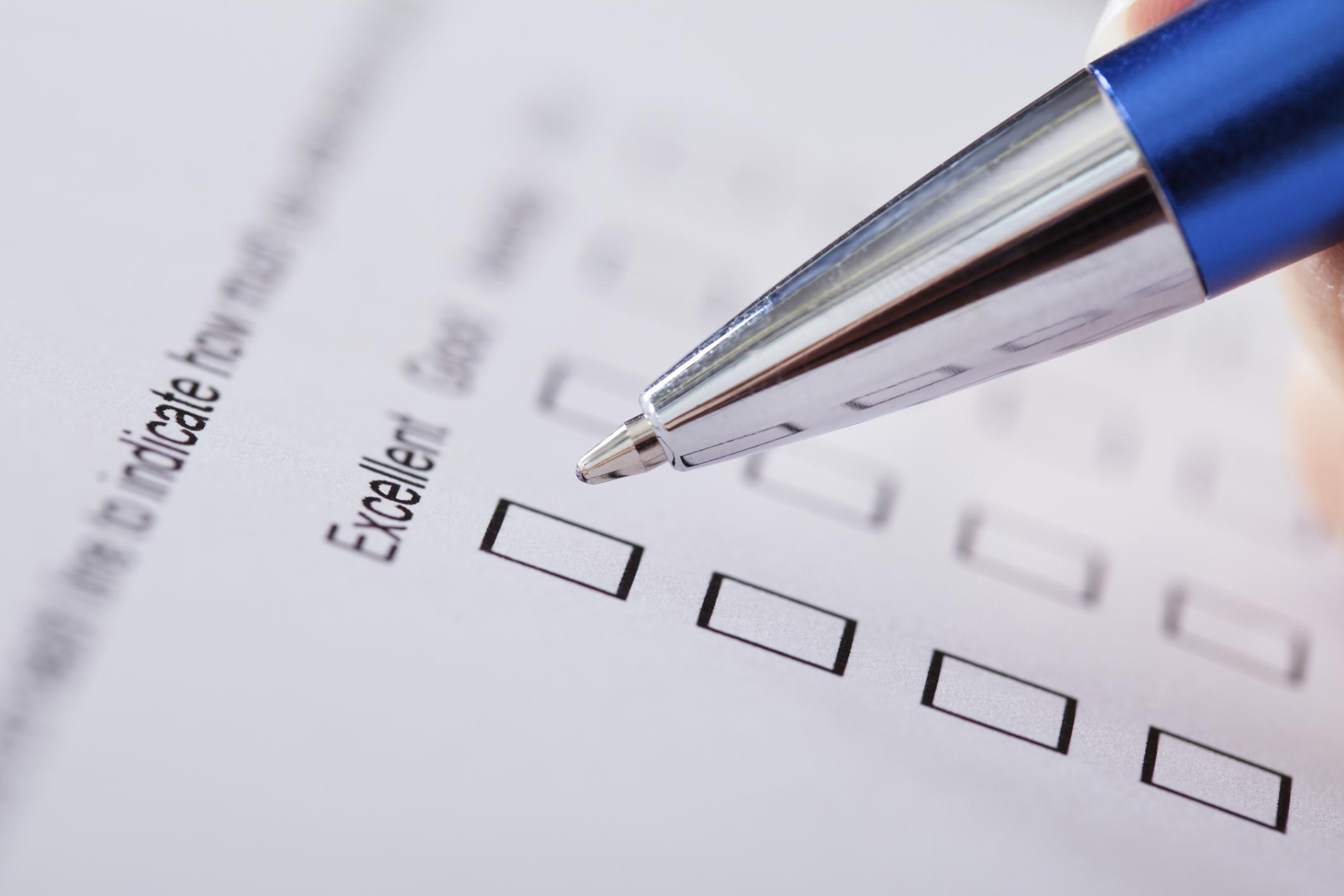 insurance survey response