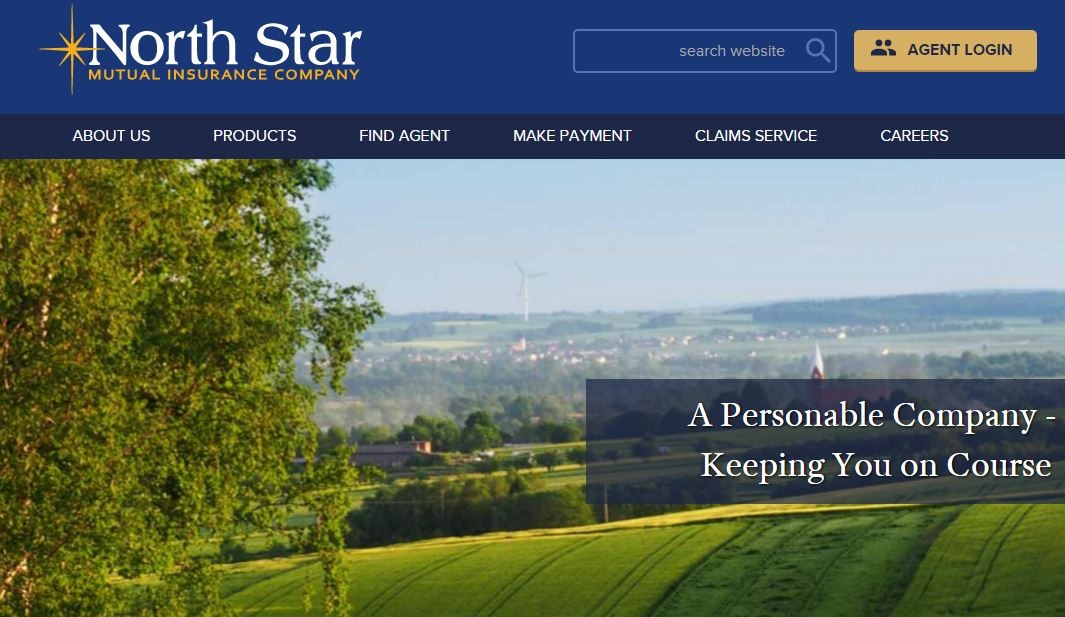 North Start Mutual Insurance Company website