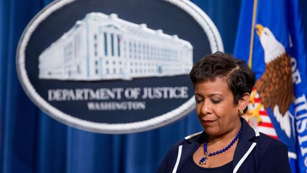 Attorney General Loretta Lynch attends a news conference at the Justice Department in Washington, Monday, Nov. 16, 2015. (AP Photo/Andrew Harnik)