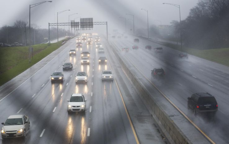 Safest And Most Hazardous US Cities For Driving In Bad - Us weather drive map