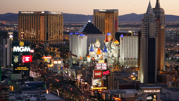 The Las Vegas Strip. (Photo: Isaac Brekken/AP Photo)