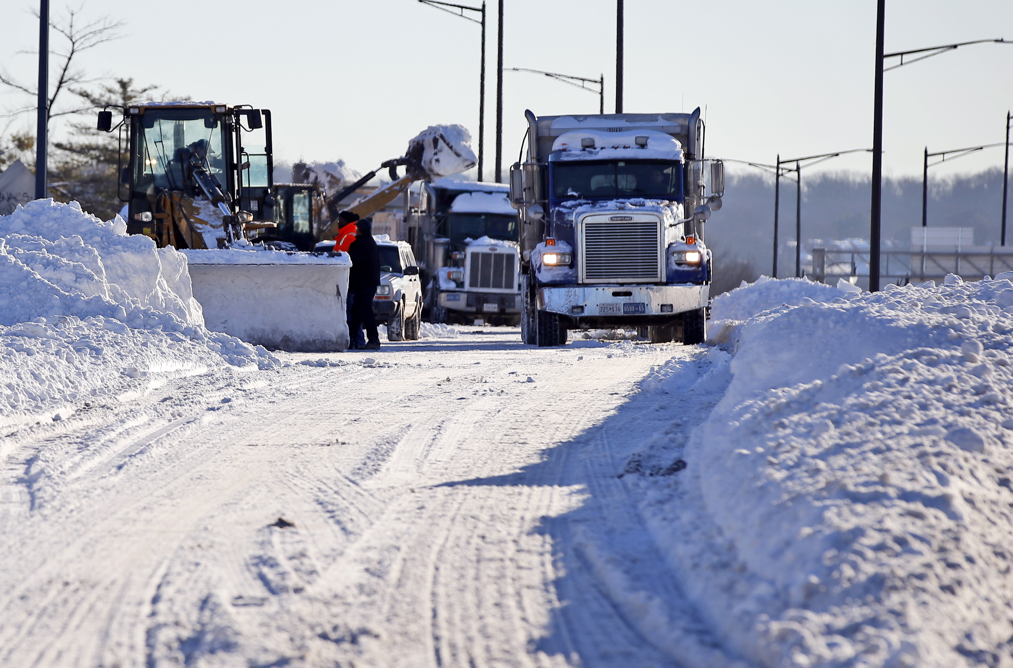Washington, D.C., snow removal
