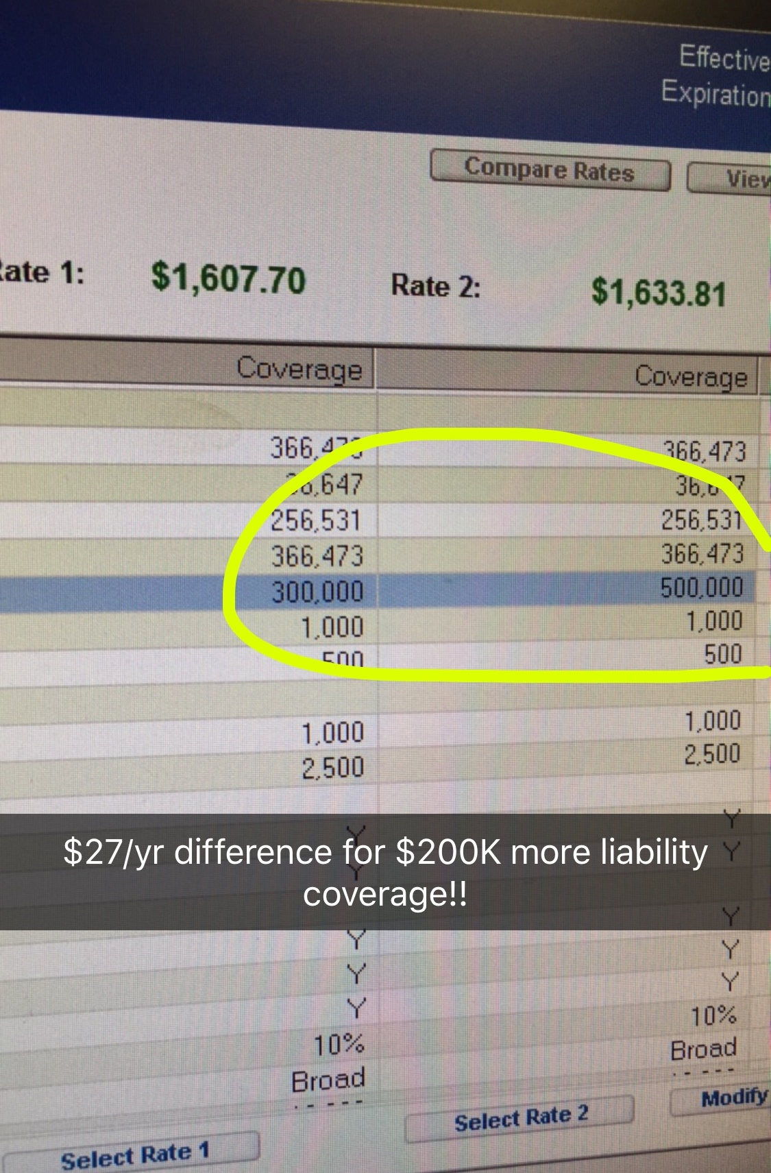 Snapchat-screenshot-comparing-premiums-Louis-Lee