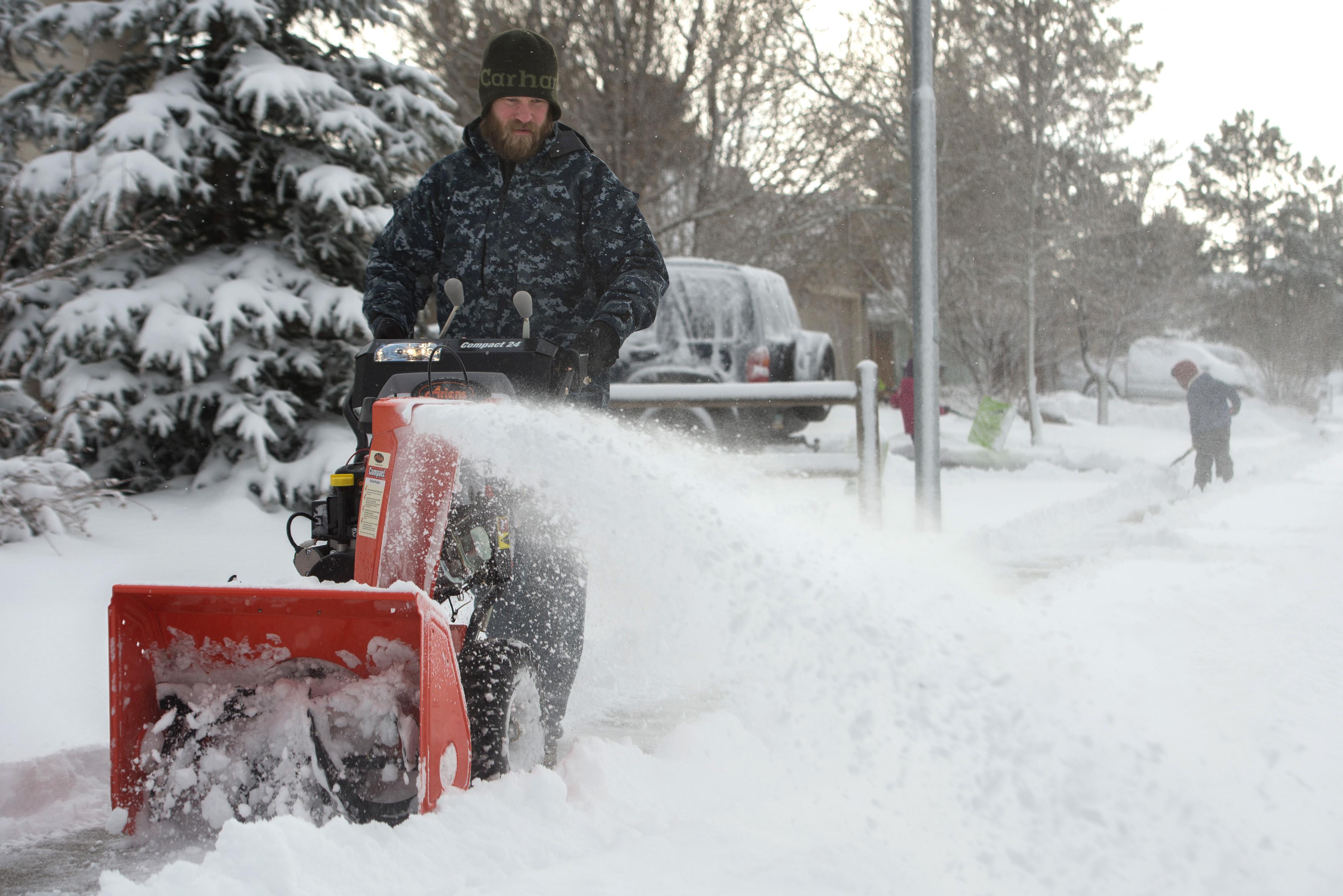 Arizona snowblower