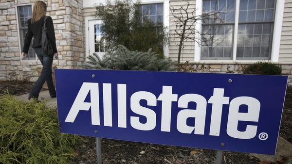 Allstate has been raising prices for auto coverage while expanding home policies and investing in technology platforms such as Esurance to boost the online business. (AP Photo)