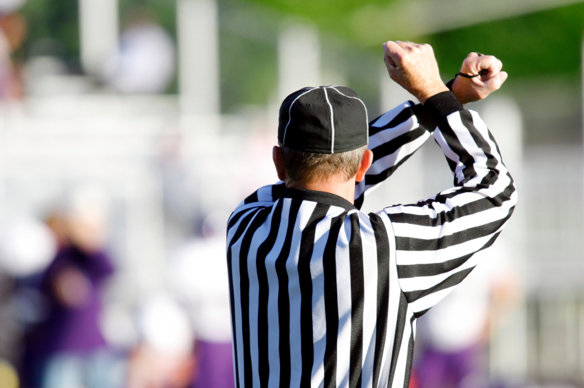 Referee personal foul