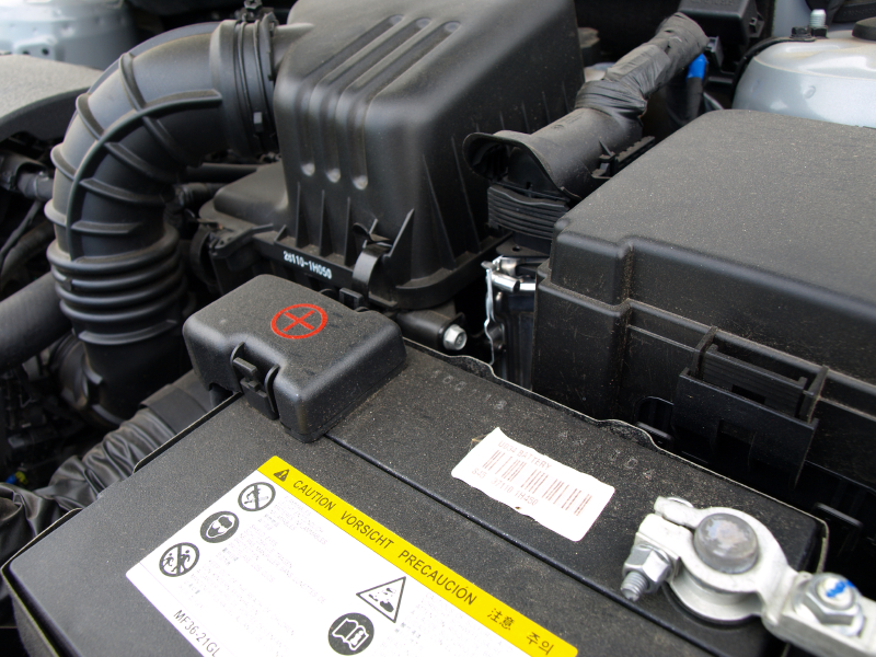 Warm up your car battery