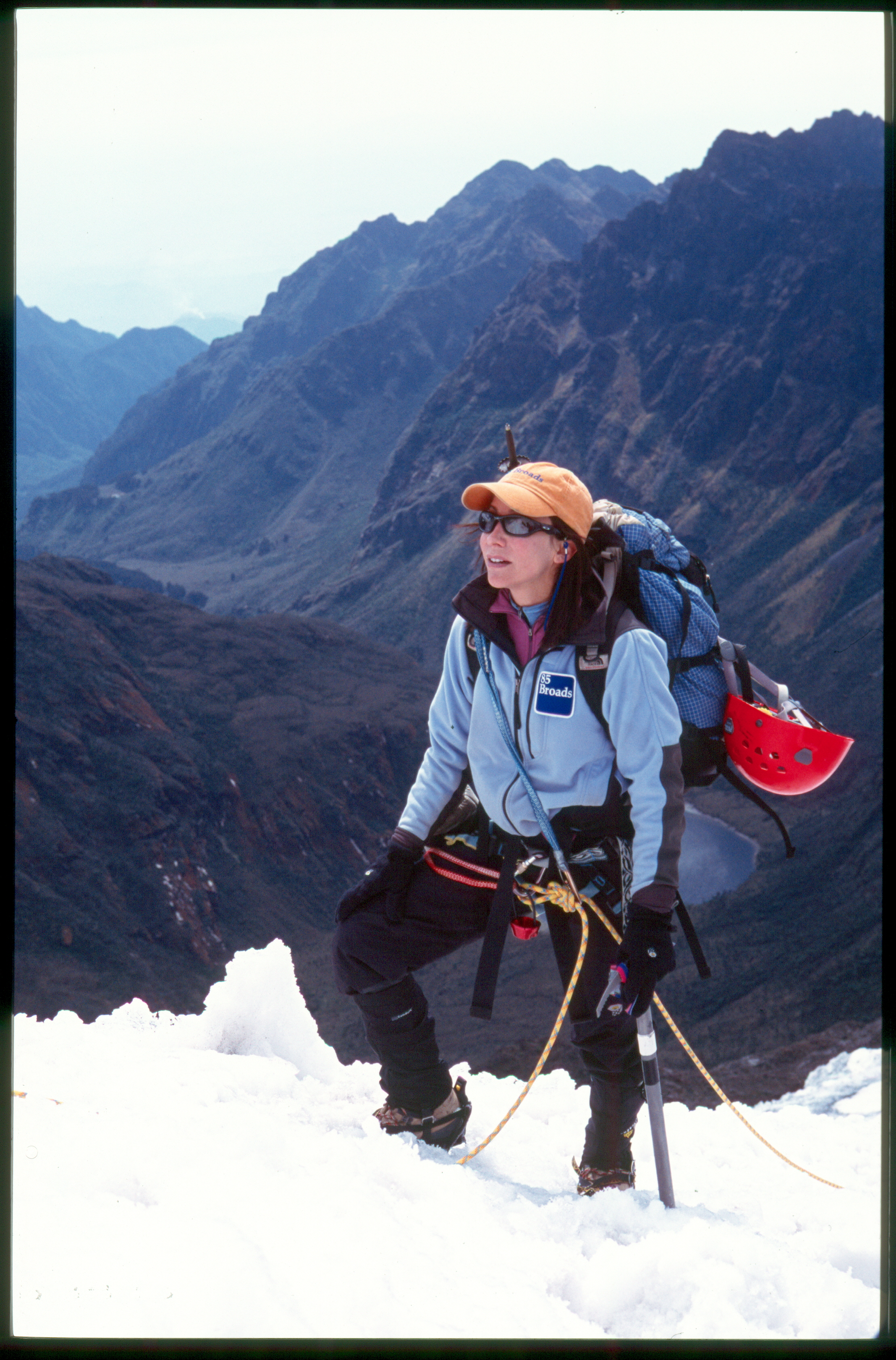 Alison Levine on Mt. Everest