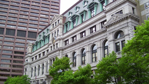 The John Adams Courthouse in Boston, home of the Massachusetts Supreme Judicial Court. (Photo: Swampyank via Wikipedia)