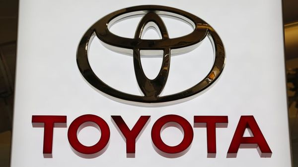 This is the Toyota logo on display at the Pittsburgh International Auto Show in Pittsburgh Thursday, Feb. 11, 2016. (AP Photo/Gene J. Puskar)