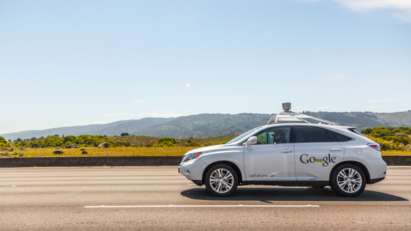 A Google self-driving car. (Photo: iStock)