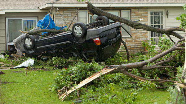 Hail, flooding and tornadoes are among the threats your vehicles face from spring storms. (Photo: iStock)