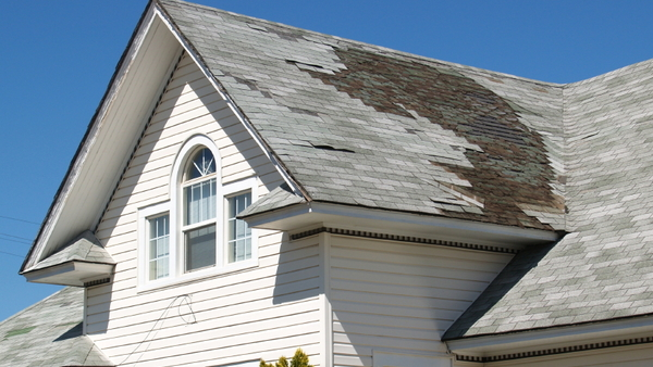 Hail, high winds and wet weather can take a toll on your home. (Photo: iStock)