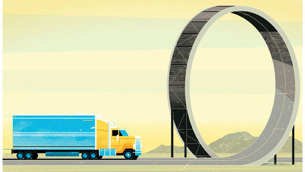 Some trucking companies are looking into alternative risk transfer methods, such as forming group captives, as they see their costs go up.