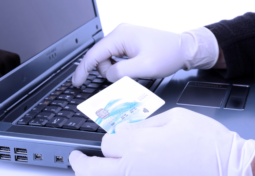 Credit card information theft