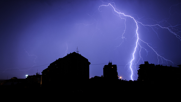 Although the number of lightning strikes is down, the dollar value of claims has increased. Is your property protected adequately? (Photo: iStock)