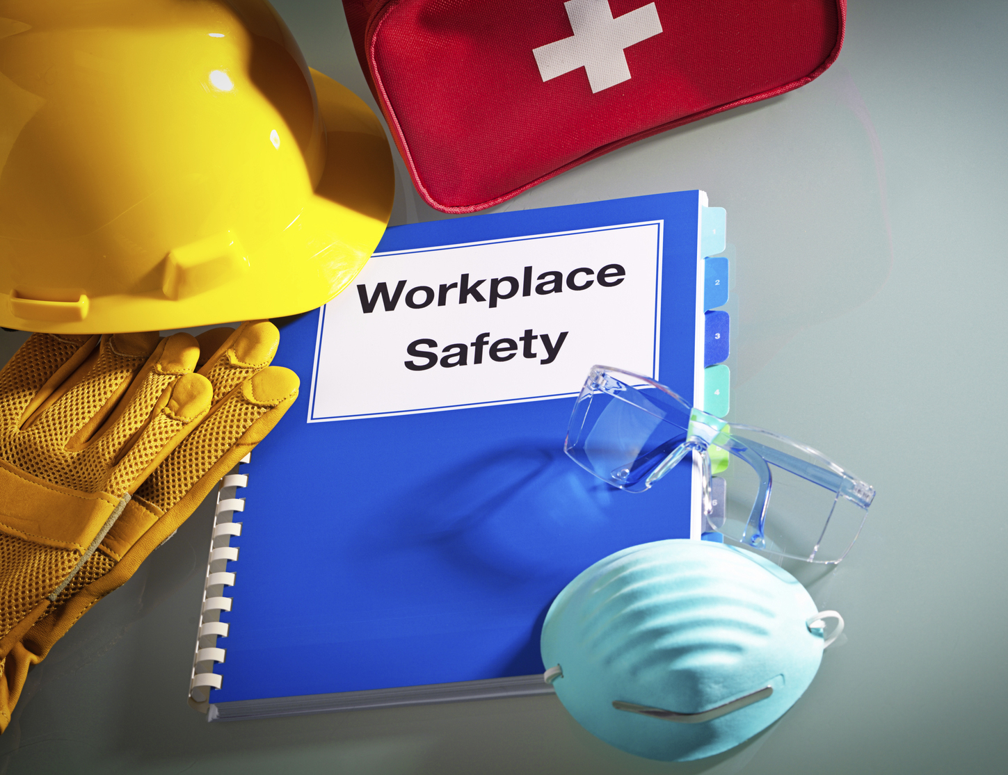 Safety-manual-hard-hat-first-aid-kit