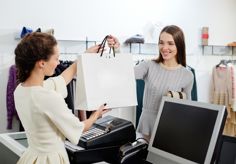 millennials working & shopping
