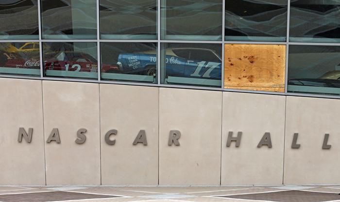 NASCAR Hall of Fame after riots 09-22-2016