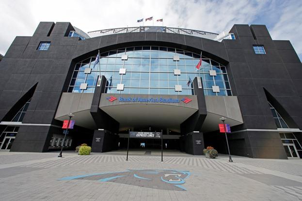 Bank of America Stadium Charlotte NC