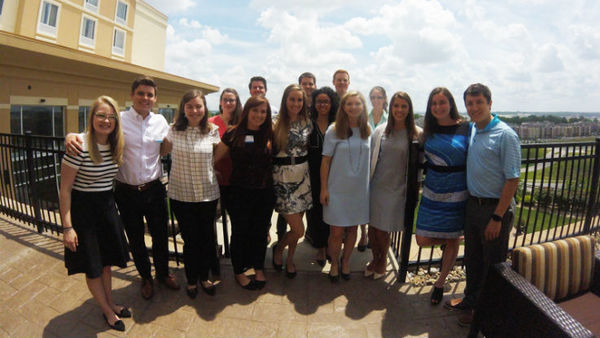 NAPSLO summer interns participate in a  nine-week program. This year, 17 NAPSLO college interns each spent five weeks with a NAPSLO-member Surplus Lines insurance company and four weeks with a NAPSLO-member wholesale brokerage firm. (Photo: NAPSLO)