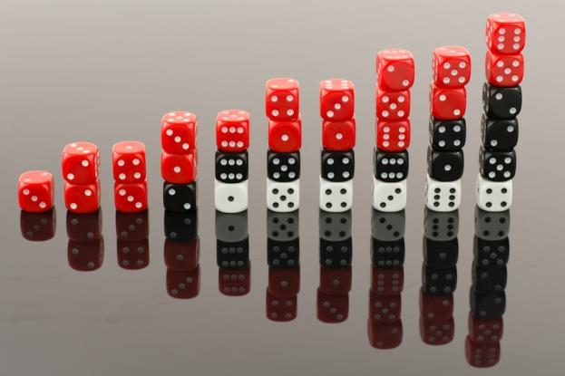 Stacks-of-dice-layered-risk-blockchain