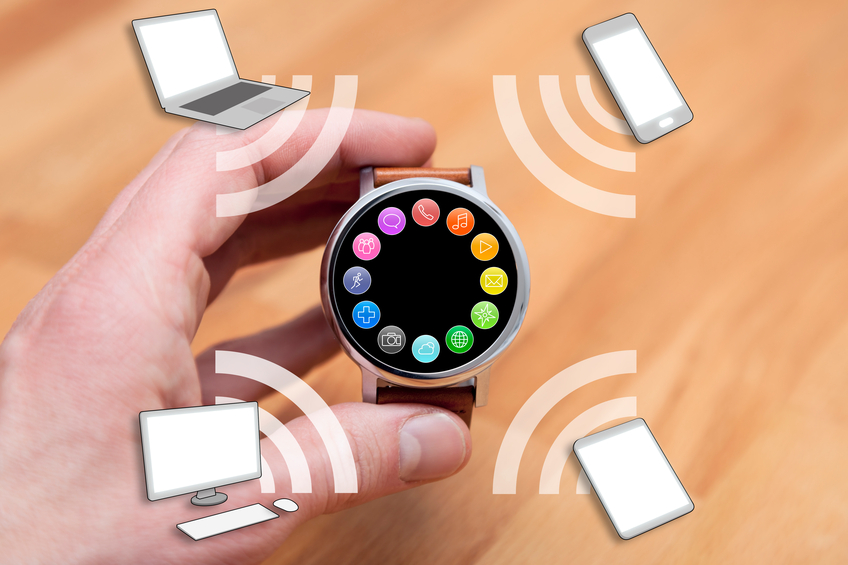 smartwatch and Bluetooth devices