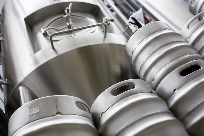 Vat and kegs