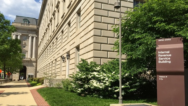 IRS office building Washington DC