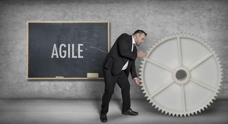 agile businessman