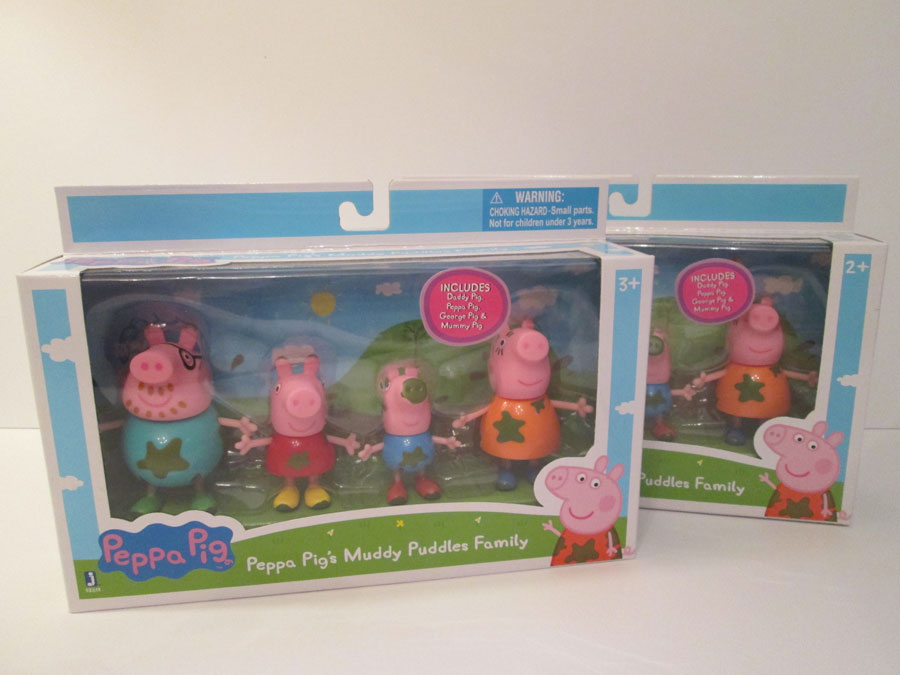Peppa Pig's Muddy Puddles Family
