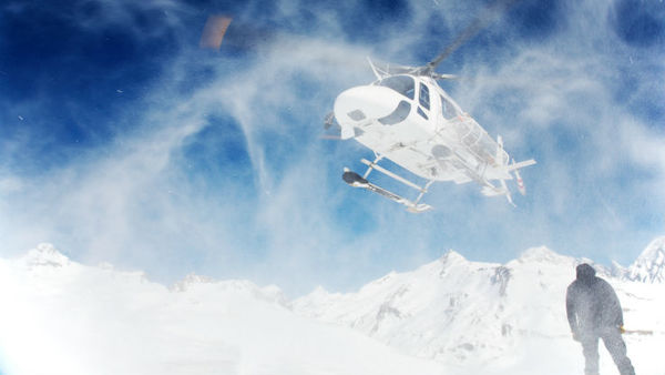 Heli-skiing companies must observe daily avalanche forecasts and avoid flying in the wind.(Photo: iStock)