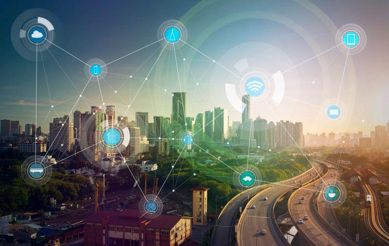 Smart city and wireless communication network