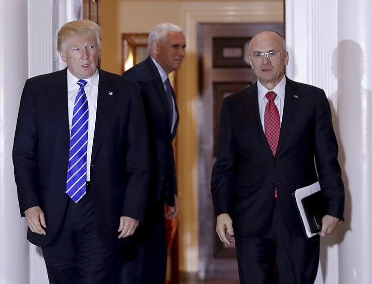 Trump and Puzder
