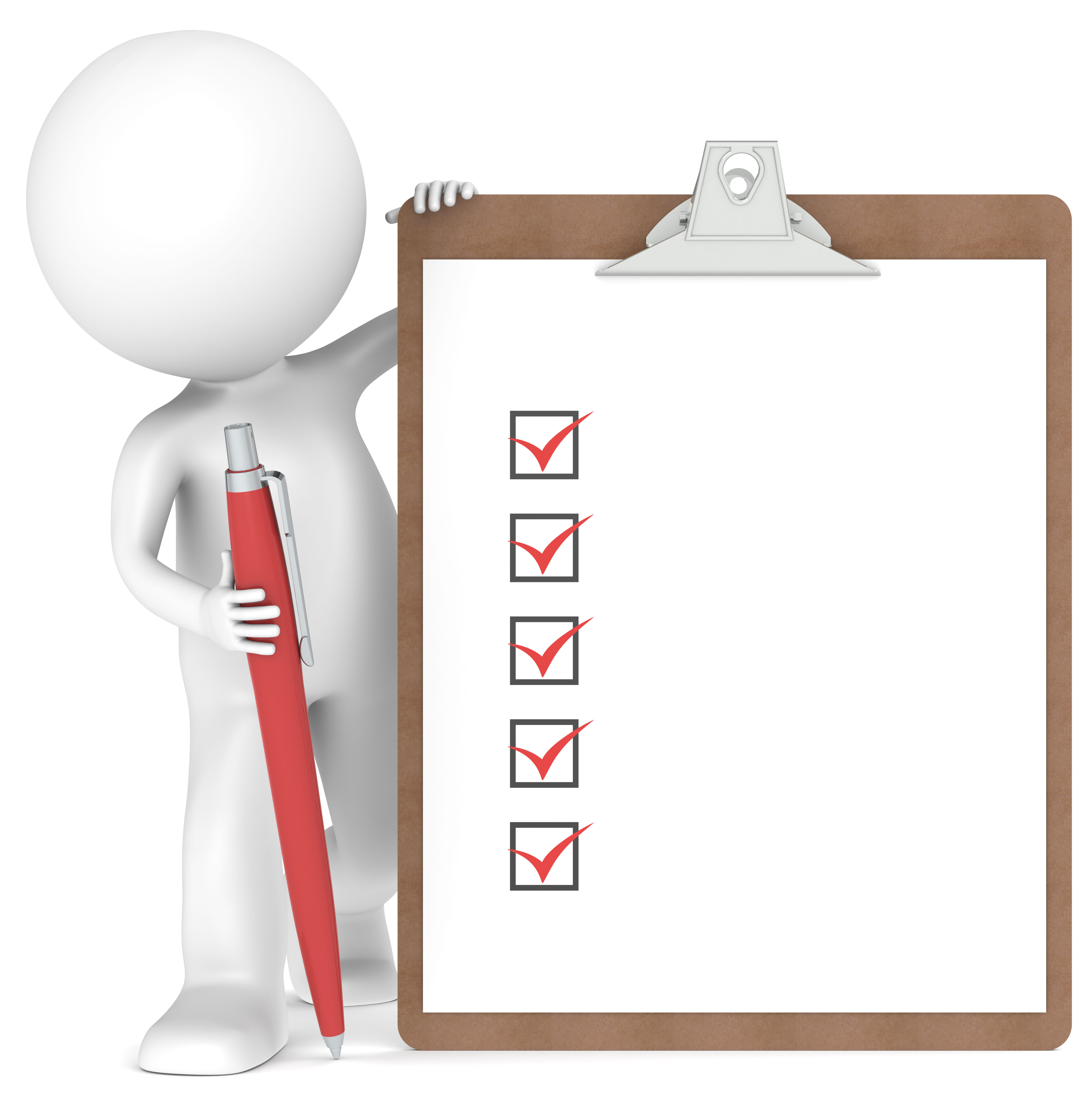 bulleted checklist