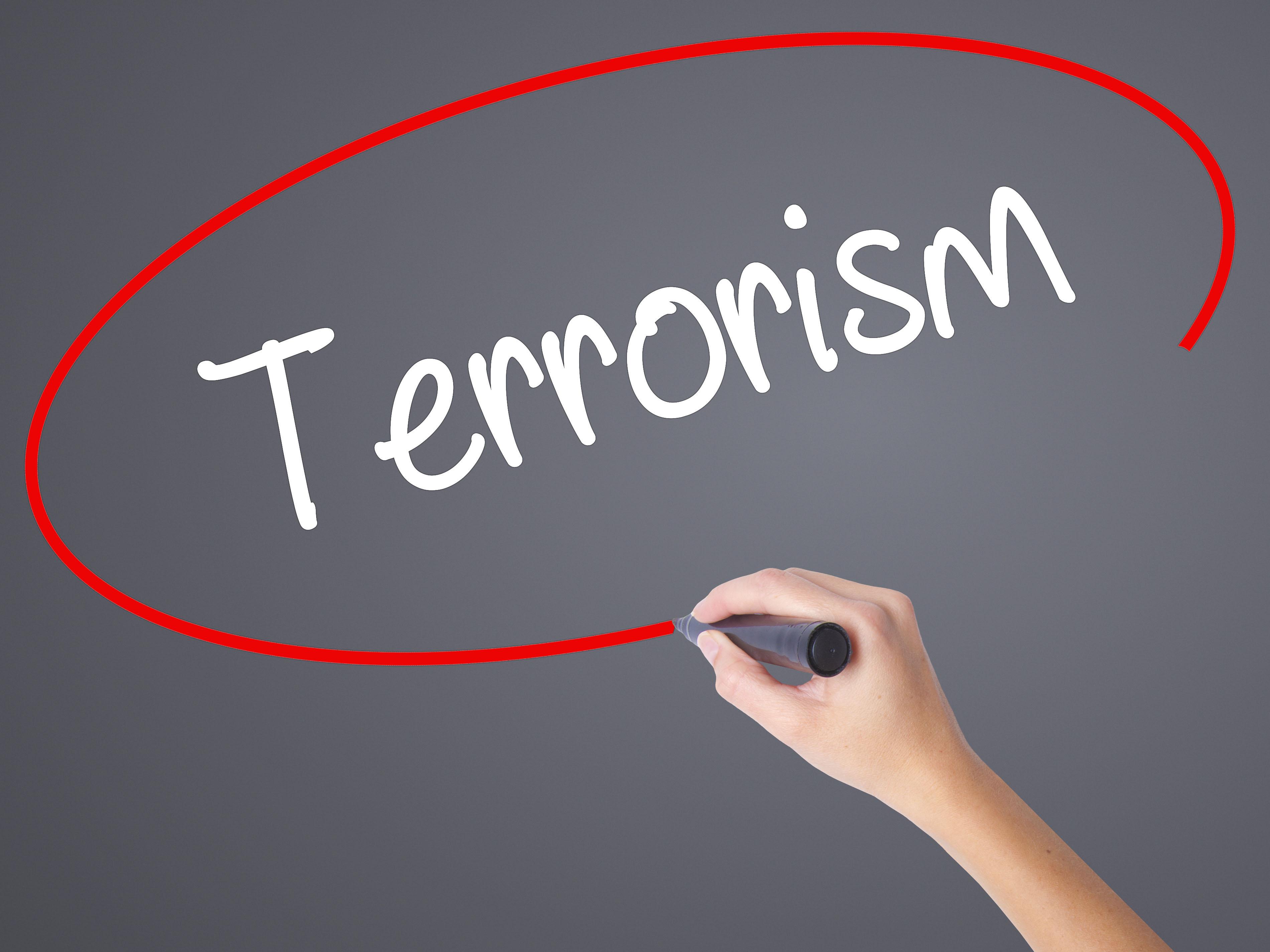 terrorism graphic