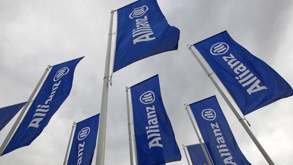 Allianz insurance company flags