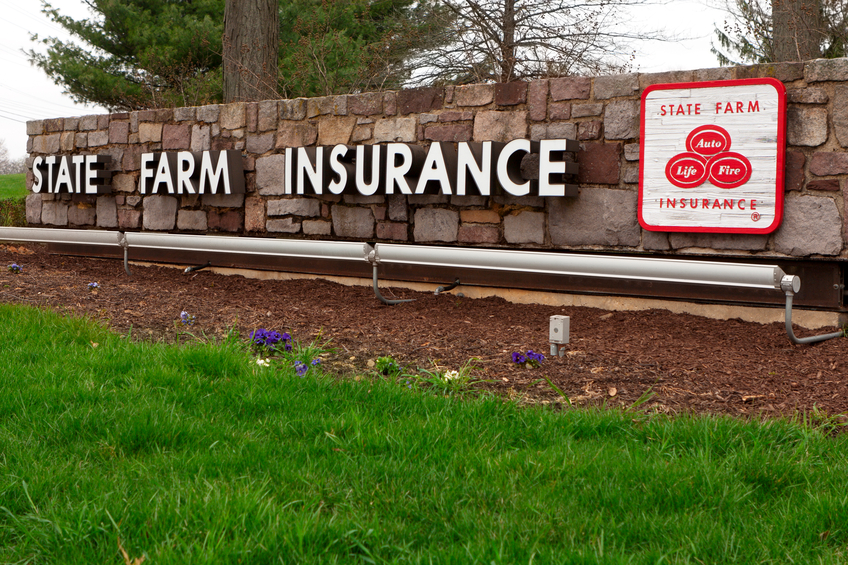 State Farm insurane sign