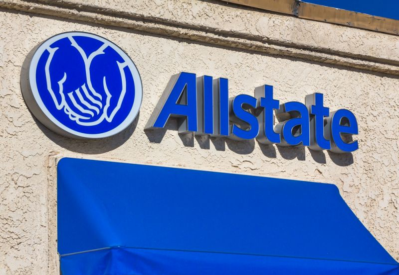 Allstate building sign