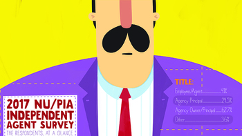 2017 NU/PIA Independent Agent Survey respondents at a glance [Infographic]
