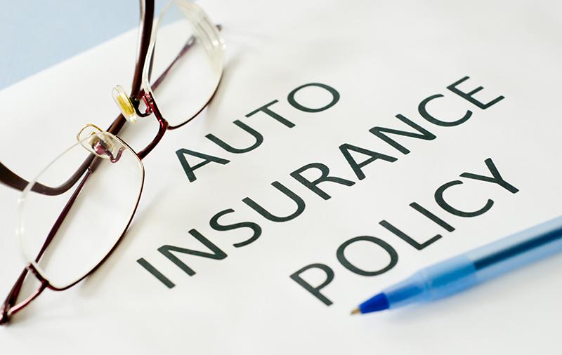 Auto insurance policy