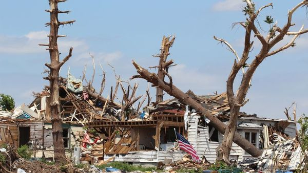 The aftermath of a powerful tornado that struck Joplin, Missouri in 2011. (Photo: Shutterstock)
