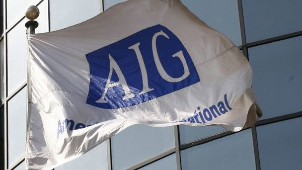 AIG is seeking a replacement for Peter Hancock who announced March 9 that he was stepping down. (AP Photo)